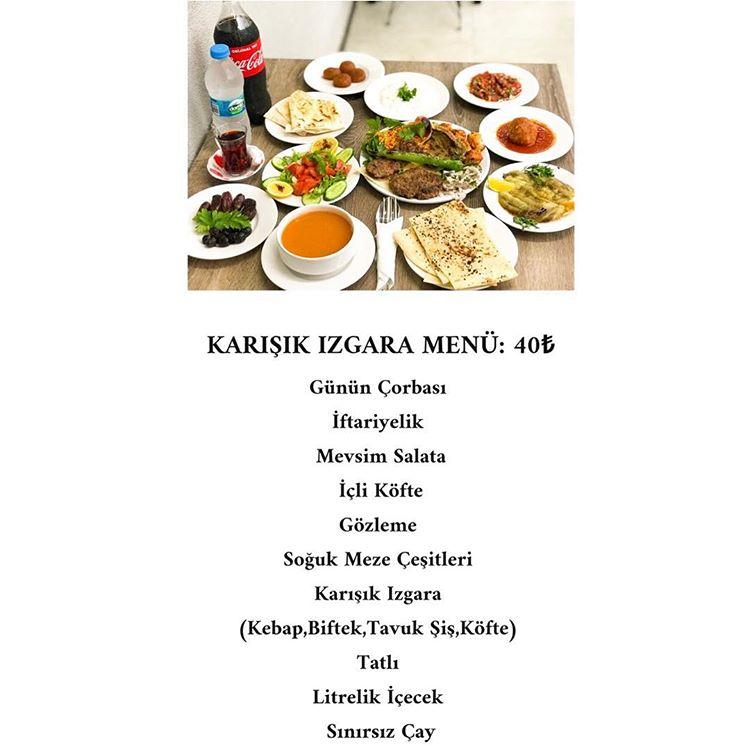 sakarya iftar menü fiyatları 2019 sakarya yemek yenecek yerler sakarya ramazan menüleri