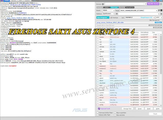 Firehose Sakti ASUS_X00HD(ZB520KL,ZC520KL)