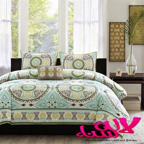 اغطية ومفروشات رائعة لغرف النوم