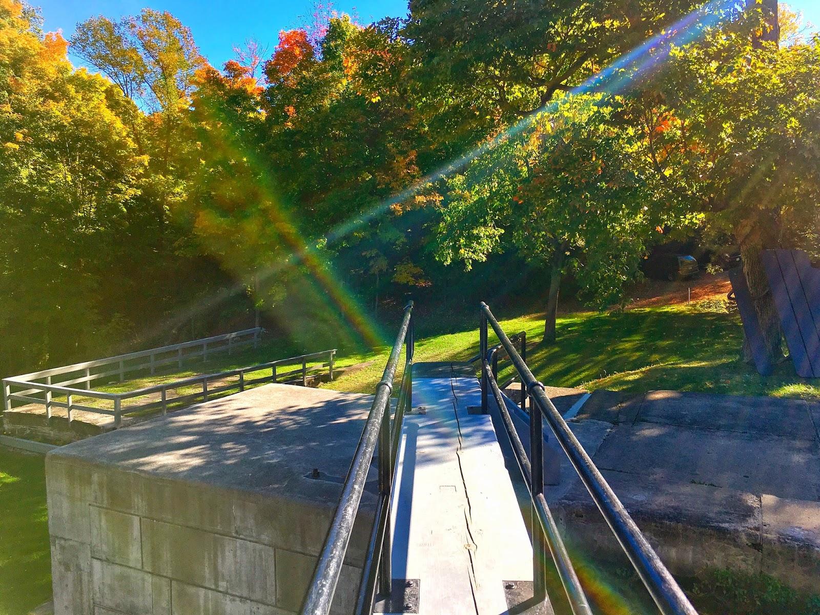Strolling Through Jones Falls Lock Station