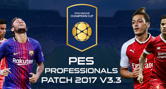 [PES 2017 PC] PES Professionals Patch 2017 V3.3 - Released 28/07/2017