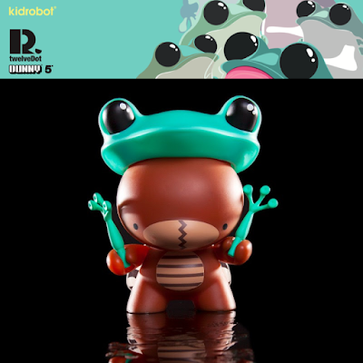 "Incognito 5"" Dunny by TwelveDot x Kidrobot"