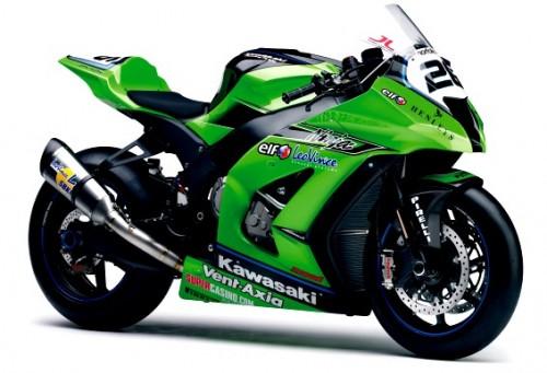 Auto Motor Modificatio: kawasaki ninja ZX10r racing team