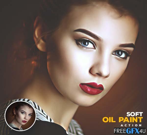 Soft Oil Paint Action