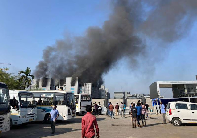 Fire at the India plant of the world's largest vaccine manufacturer
