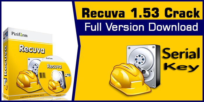 Recuva pro 1. 5 crack with serial key free download.