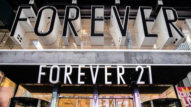 Forever 21 se declara en bancarrota