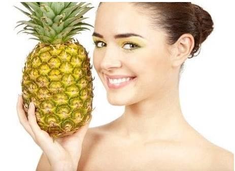Menghilangkan Jerawat dengan buah nanas