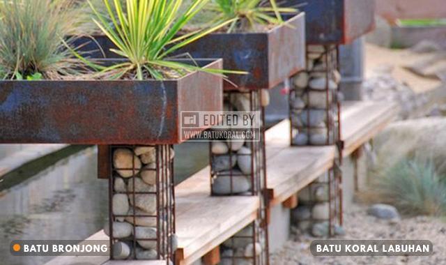 kawat bronjong batu koral