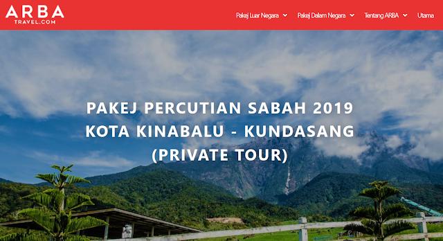 Rancang percutian Anda Sekeluarga Denga Arba Travel
