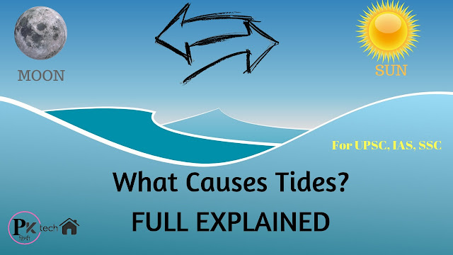 How are Tides Formed - low, high, spring, neap tide for upsc