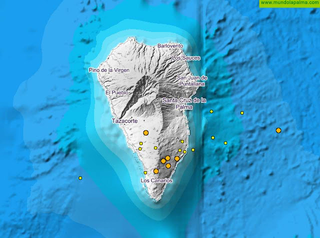 Nuevo enjambre sísmico este fin de semana en La Palma