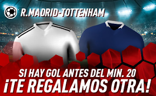sportium Promo Real Madrid vs Tottenham 30 julio 2019