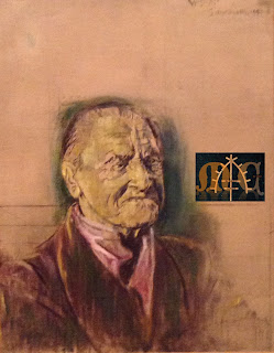 Graham Sutherland's portrait of Somerset Maugham