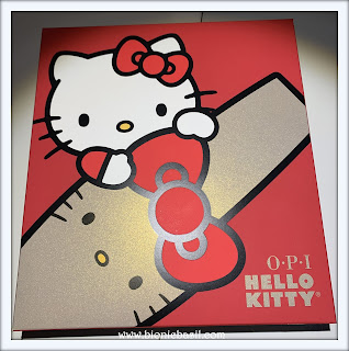 Feline Fiction on Fridays #112 at Amber's Library ©BionicBasil® Hello Kitty advent calendar with OPI Nail Polish
