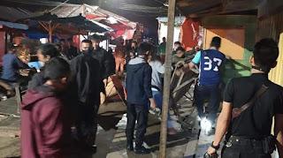 Penutupan Pasaraya Solok Berujung Pembongkaran Lapak Pedagang