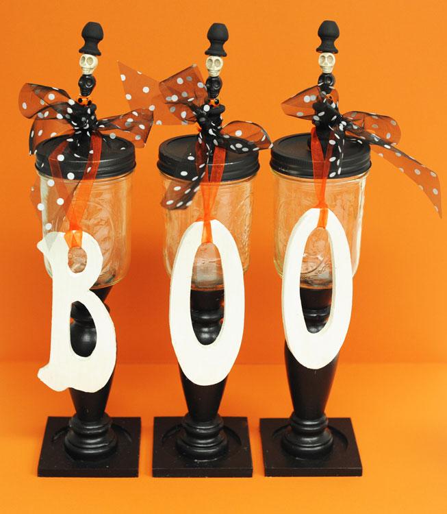 Ben Franklin Crafts And Frame Shop D I Y Halloween Candy Jars