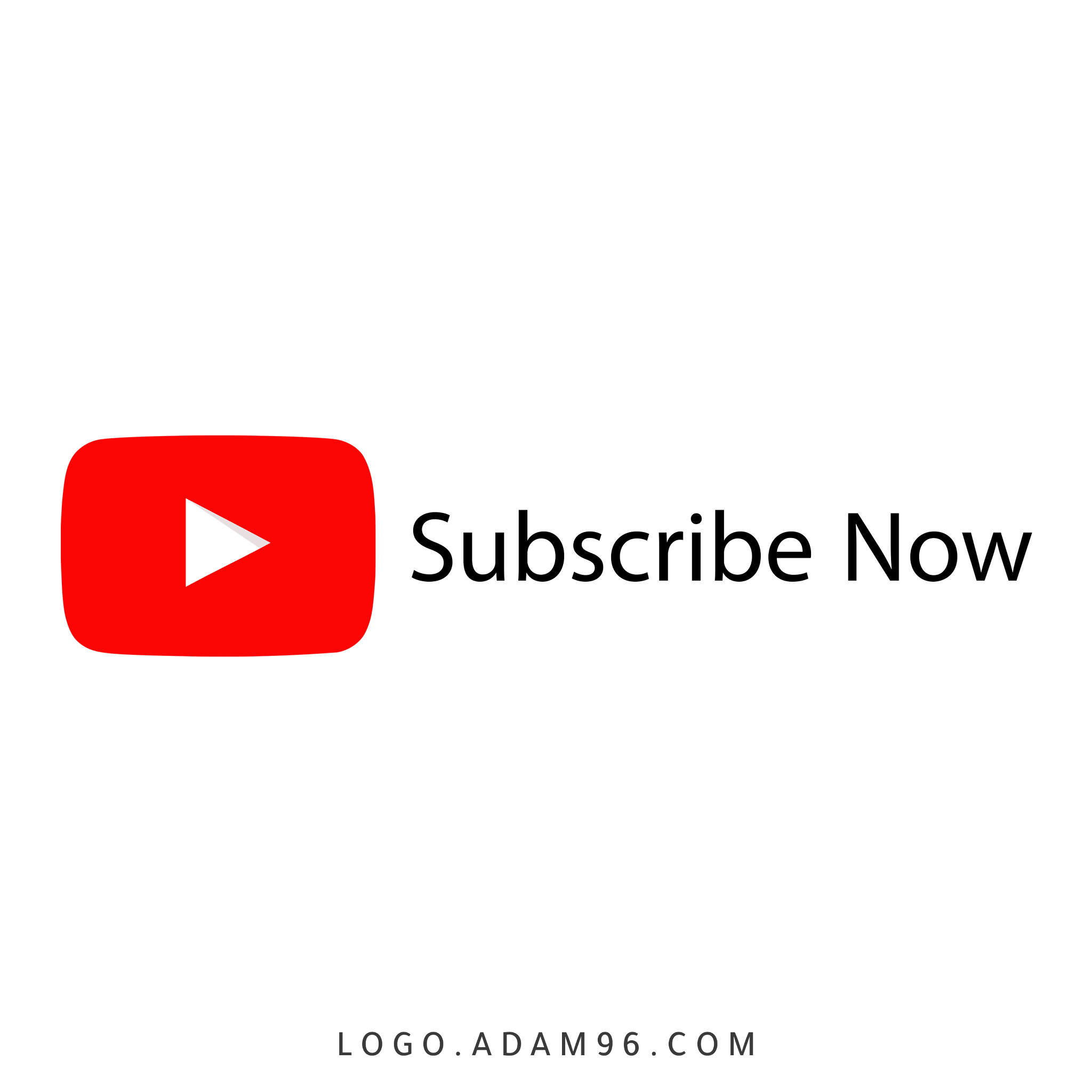 تحميل ايقونة يوتيوب اشترك الان | Logo Youtube Subscribe Now