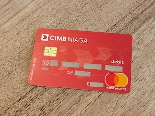 Kartu ATM TabunganKu CIMB Niaga
