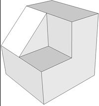 Figura 3D elaborada con sketchUp