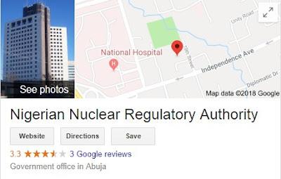Nigerian Nuclear Regulatory Authority Recruitment 2018/2019 - NNRA Registration Form