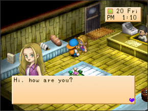Harvest Moon 64 roms n64