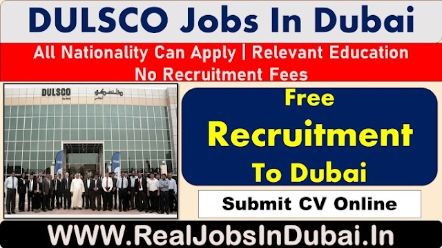 DULSCO Hiring Staff In Dubai - UAE 2021