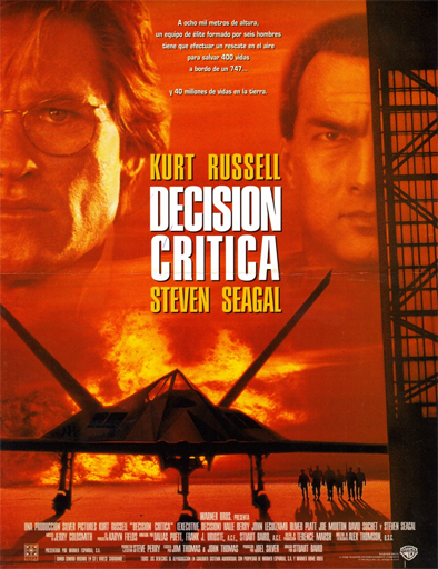 Ver Decisión crítica (Executive Decision) (1996) Online