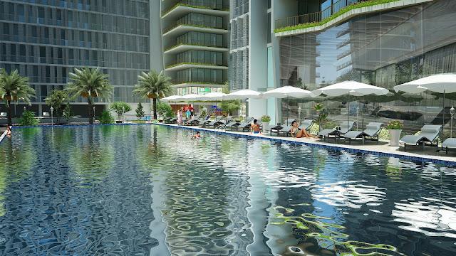 Bể bơi tại Căn hộ Condotel Times Square Đà Nẵng