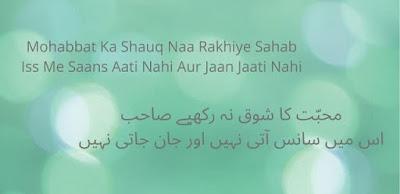 Pain Quotes In Urdu Written