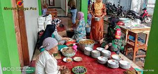 Babinsa Koramil 11 Tahunan Peltu Candra K Monitoring Masjid Baitul Muqorrobin