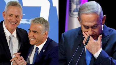 رئيس الوزراء الاسرائيلى, نتنياهو, الملاحقة القضائية, الانتخابات, جانتس,