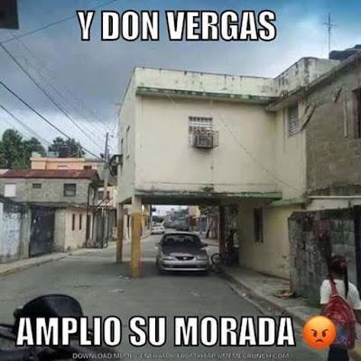 Don Vergas y su casa