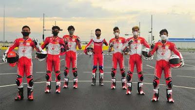 AHM Komit Bina Pebalap Berjenjang, 12 Rider AHRT Diperkenalkan