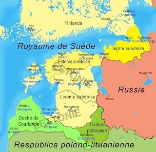 Estonie ''Suedoise'' avant 1700