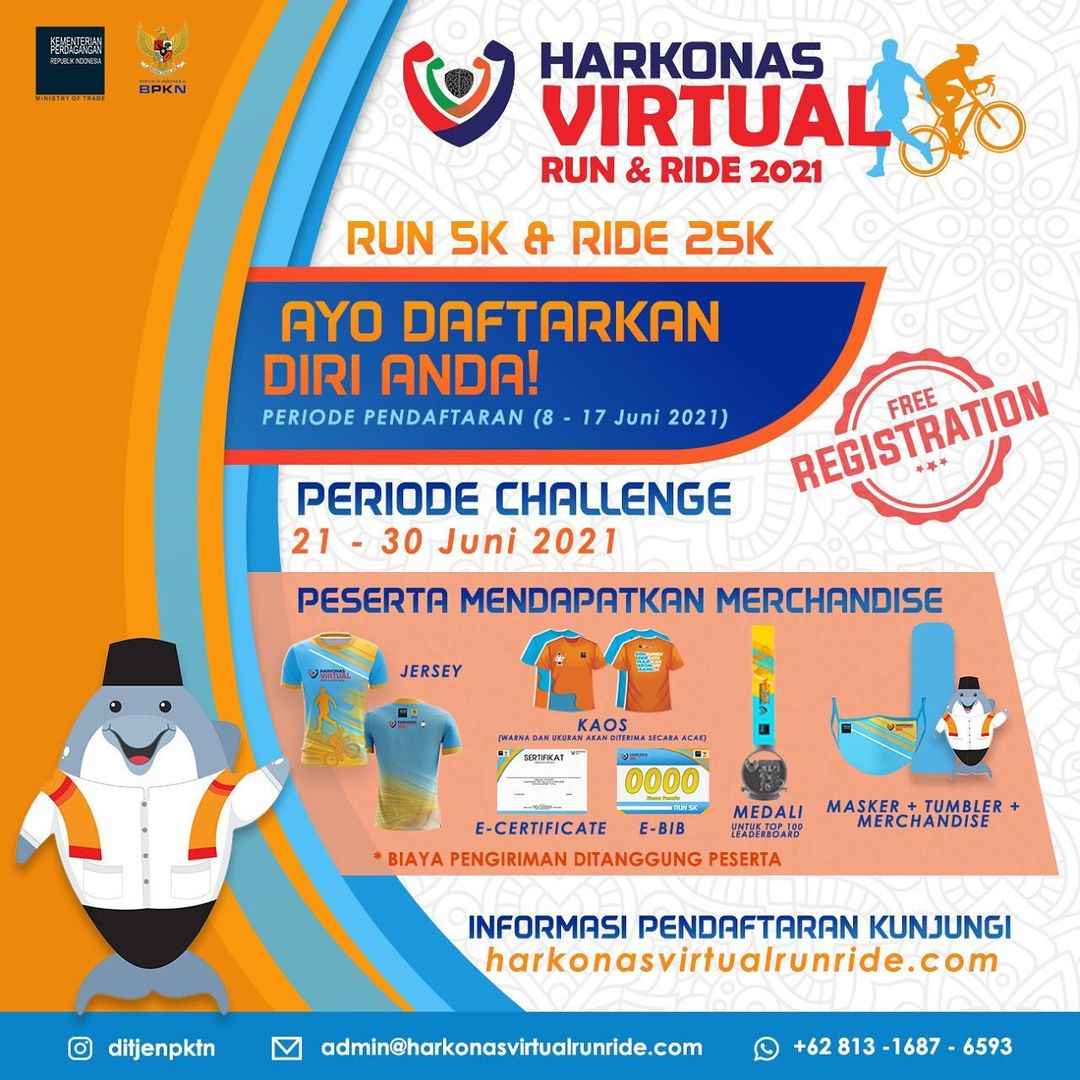 Harkonas Virtual Run & Ride • 2021