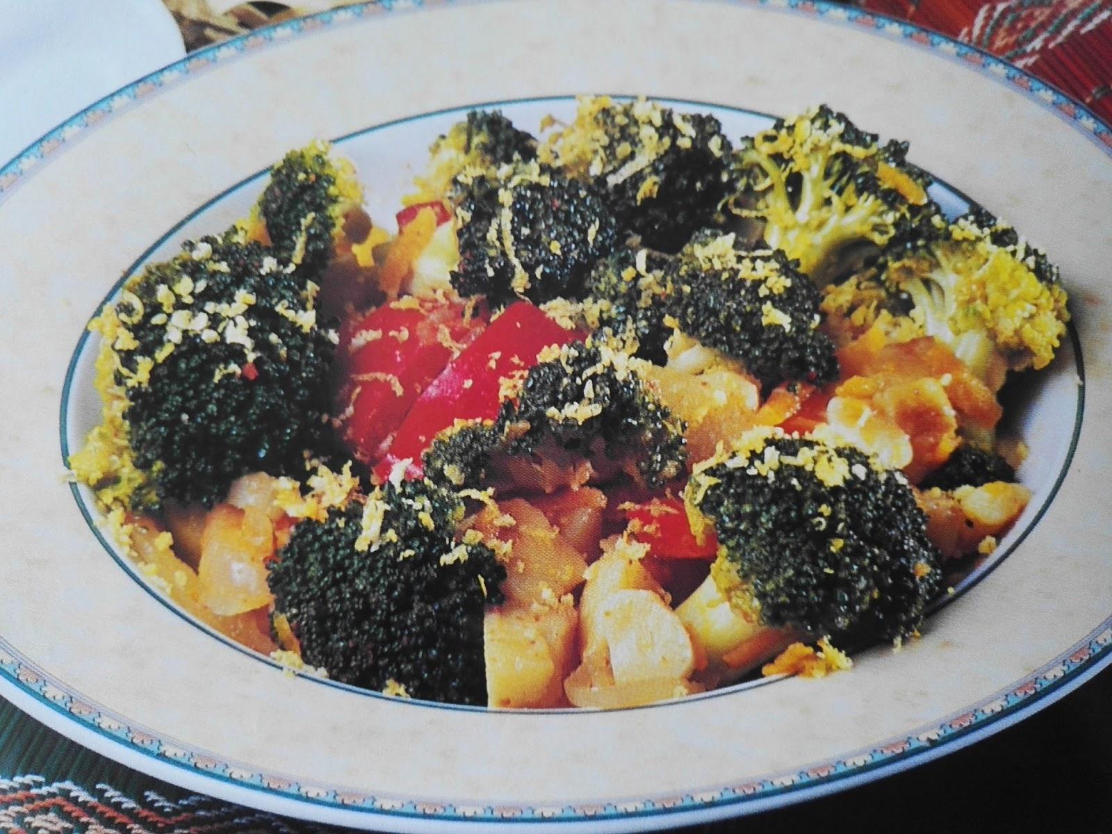 Brokolili tavuk kızartma tarifi