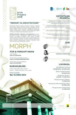 Lomba Arsitektur Nasional MORPH 2018 di ITS