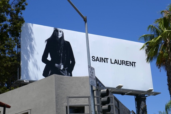 Saint Laurent Pre-Fall 2018 billboard
