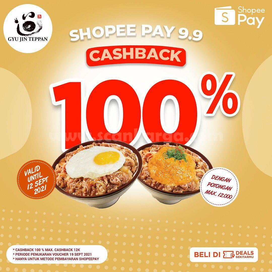 GYU JIN TEPPAN Promo SHOPEEPAY 9.9 Voucher Deals Cashback 100%