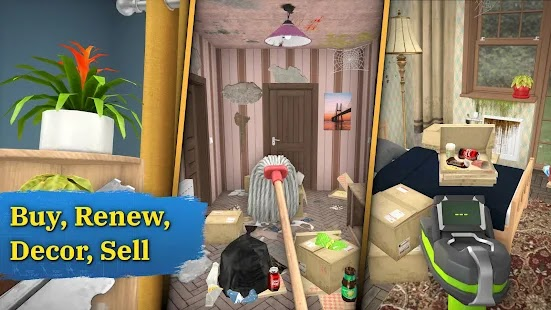 House Flipper Home Design & Simulator Games Screenshot