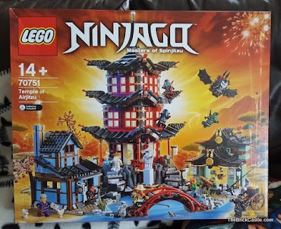 LEGO Ninjago Temple Of Airjitzu set 70751 Review Box Front