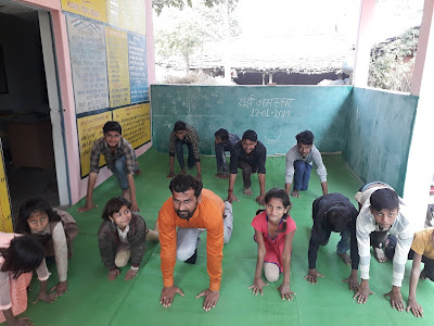 YOGA  Rural Education India