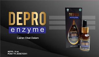 Depro Enzyme adalah suplement herbal yang terbuat dari bahan bahan alami diproses dengan teknologi modern membantu mengatasi berbagai macam penyakit dan menjaga daya tahan tubuh dari serangan penyakit bakteri dan virus.