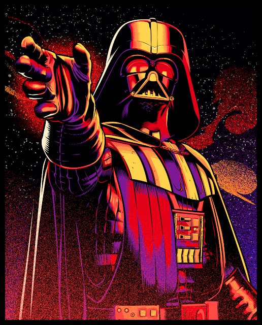 Cristiano Siqueira Star Wars Illustrations - Darth Vader