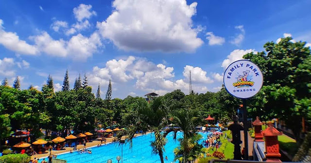 Owabong Waterpark Purbalingga Jawa Tengah
