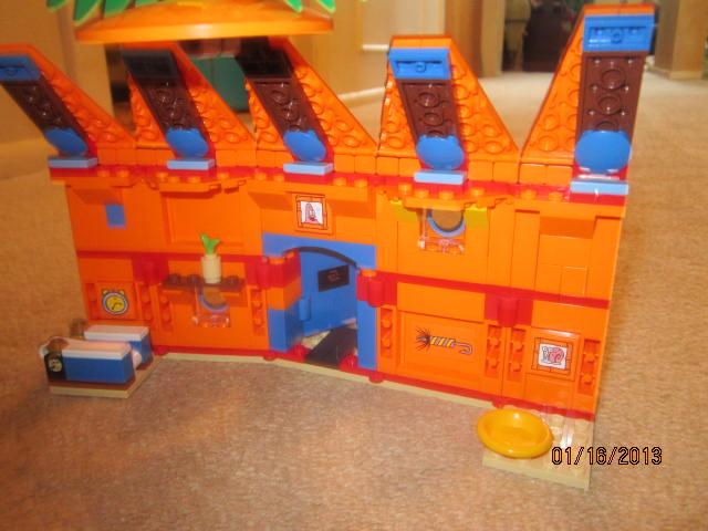 legos & minedcraft: My Lego Spongebob House
