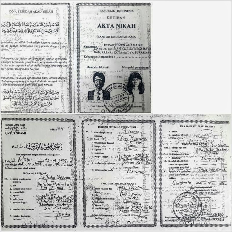 Tepis Black Campaign Buku Nikah Jokowi Pun Beredar Jokowidodo Org