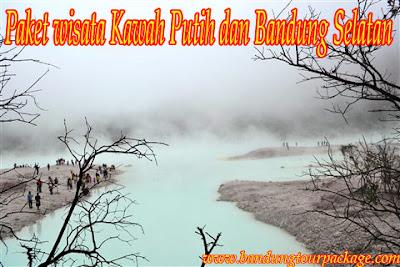 Paket Wisata Kawah Putih dan Bandung Selatan