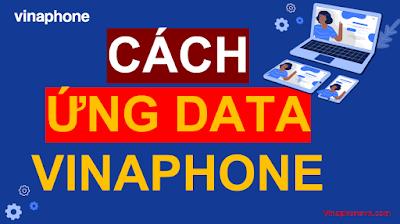 Cách Ứng Data VinaPhone